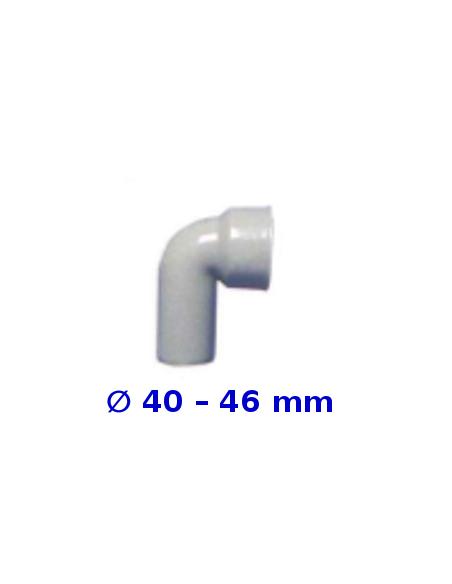 Raccordo curvo HTSW  senza morsetto _ 40 – 46 mm