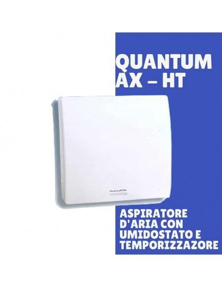 Aspiratore d'aria con Umidostato e Timer  Quantum AX HT gitab