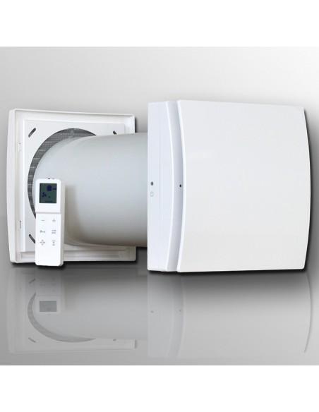 recuperatore di calore, vmc puntuale, quantum next, ricambio d'aria stanza contro la muffa, conto la condensa gitab