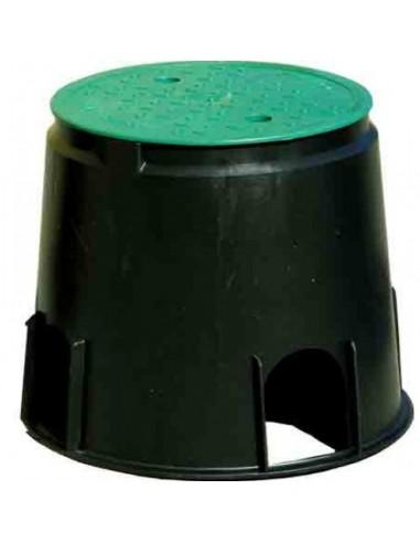 Pozzetto circolare medio diametro 31 cm x  altezza 25 cm in resina TORO