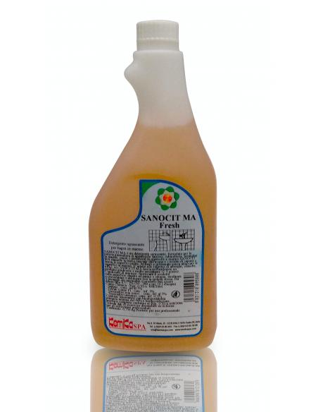 Sanocit detergente sgrassante dal profumo gradevole, per la pulizia del bagno e delle superfici in marmo - gitab
